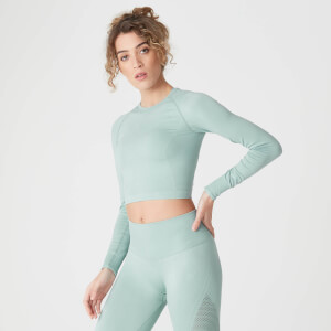 MP Shape Seamless Crop Top Seafoam