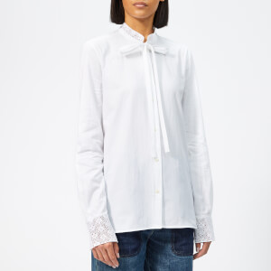 JW Anderson Women's Broderie Anglaise Blouse - White
