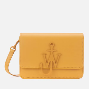 JW Anderson Women's Mini Logo Purse - Maize
