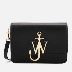JW Anderson Women's Mini Logo Purse - Black/Gold