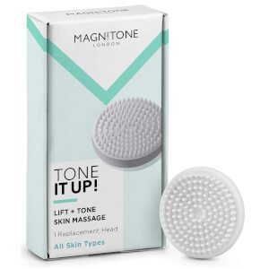 Cabezal de cepillo de masaje Barefaced 2 Tone It Up! de Magnitone London - Paquete de 1 unidad