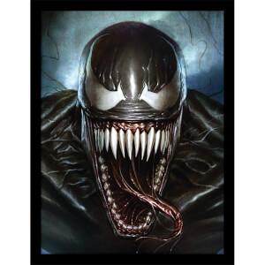 Marvel Venom (Sinister Smile) Framed 30 x 40cm Print
