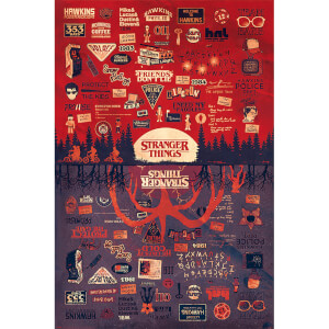Stranger Things (The Upside Down) Maxi Poster