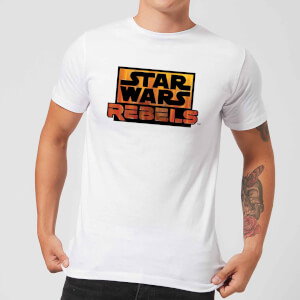 T-Shirt Homme Logo Star Wars Rebels - Blanc