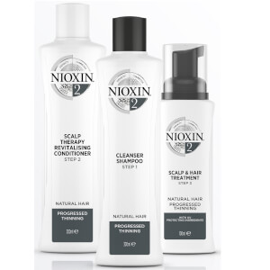 NIOXIN 3-Part System 2 Scalp Therapy Revitalizing Conditioner for Natural Hair with Progressed Thinning 300 ml