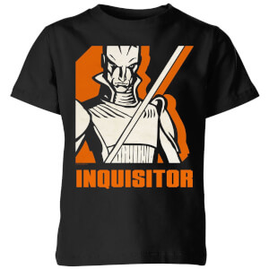 Star Wars Rebels Inquisitor Kids' T-Shirt - Black