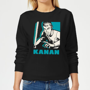 Star Wars Rebels Kanan Women's Sweatshirt - Black