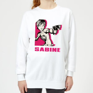 Sweat Femme Sabine Star Wars Rebels - Blanc