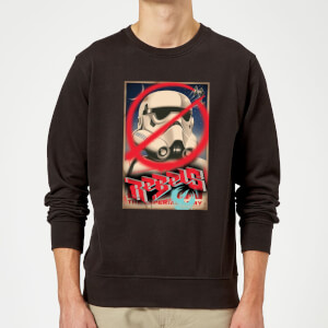 Star Wars Rebels Poster Sweatshirt - Black