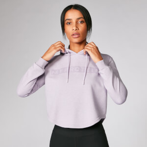 The Original Cropped Hoodie - Soft Purple