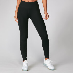 Power Mesh Leggings - Fekete