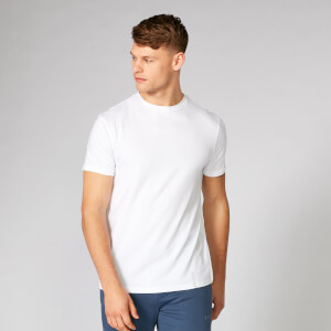 Luxe Classic Crew T-Shirt - White