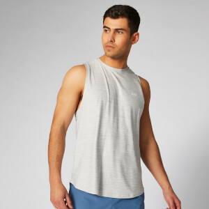 Myprotein Dry Tech Infinity Tank Top - Silver Marl