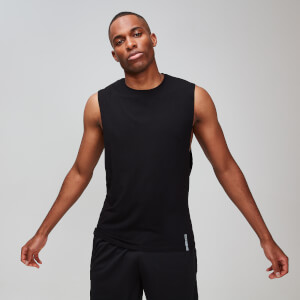 MP Men's Luxe Classic Drop Armhole Tank Top -toppi - Musta