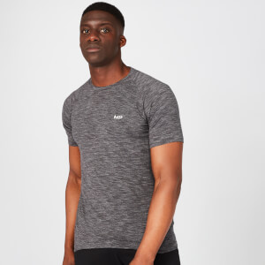 Performance T-Shirt - Sort Marl
