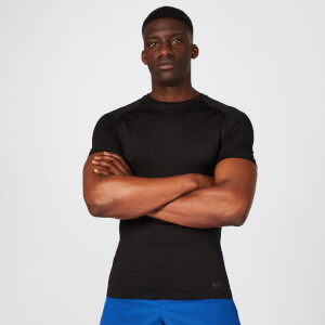 Elite Seamless T-Shirt – Schwarz