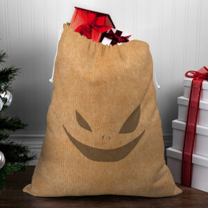 Creepy Face Christmas Sack
