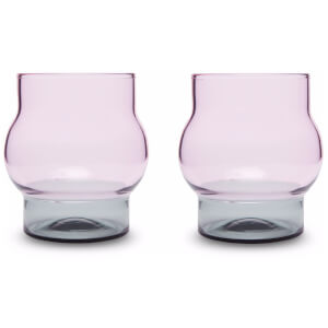 Tom Dixon Bump Short Glass x 2