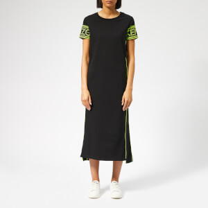 KENZO Women's Sport Long Tee Dress - Black