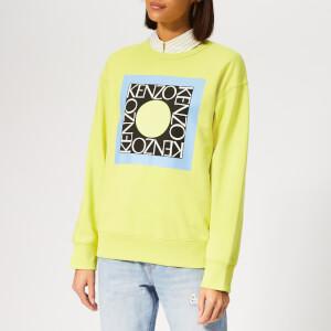 KENZO Women's Comfort Sweatshirt - Golden Yellow