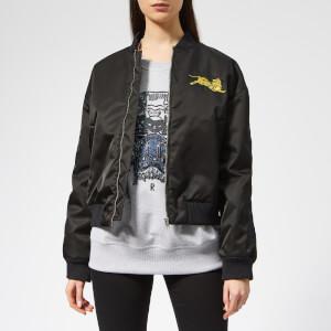 KENZO Women's Tiger Bomber Jacket - Black