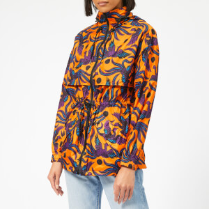 KENZO Women's Elasticated Windbreaker - Medium Orange
