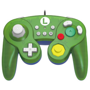 Nintendo Switch Battle Pad - Luigi (Wired)