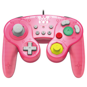 Nintendo Switch Battle Pad - Princess Peach (Wired)