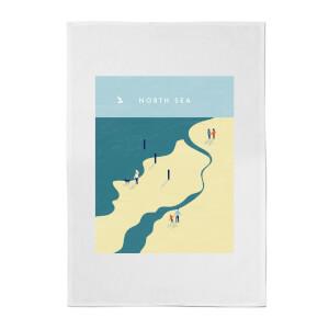 PlanetA444 North Sea Cotton Tea Towel
