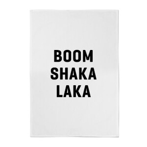 PlanetA444 Boom Shaka Laka Cotton Tea Towel