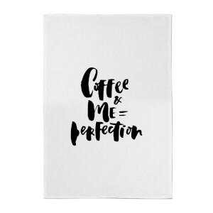 PlanetA444 Coffee+me=perfection Cotton Tea Towel
