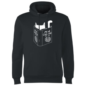 Tobias Fonseca Mind Control for Cats Hoodie - Black