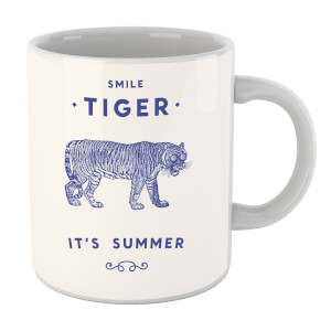 Florent Bodart Smile Tiger Mug