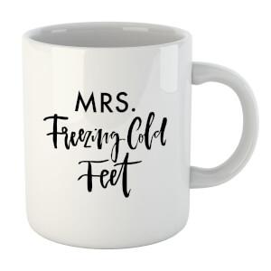PlanetA444 Mrs. Freezing Cold Feet Mug