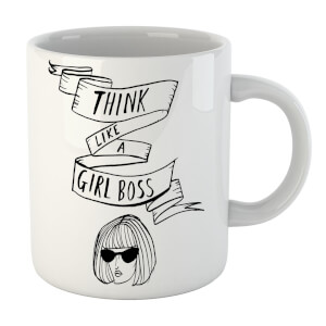 Rock On Ruby Think Like A Girl Boss Mug