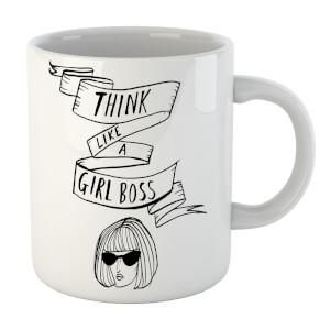 Rock On Ruby Think Like A Girl Boss Mug
