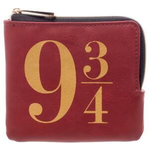 Harry Potter 9 3/4 Zip Wallet - Burgundy