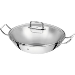 ZWILLING Plus Uncoated Wok - 2 Handles - 32cm