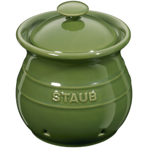 Staub Ceramic Round Garlic Keeper - Basil