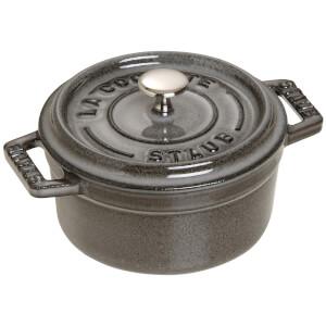 Staub Round Mini Cocotte - Graphite Grey - 10cm
