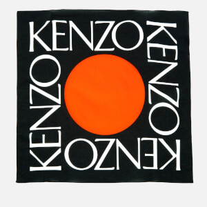 KENZO Women's Seasonal Bandana - Black