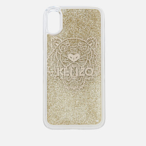 KENZO Women's Tiger iPhone X Case - Gold