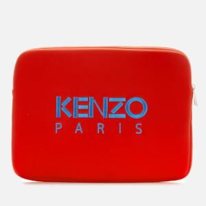 KENZO Women's Laptop Pouch - Medium Red