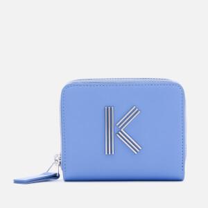 KENZO Women's Squared Wallet - Sky Blue
