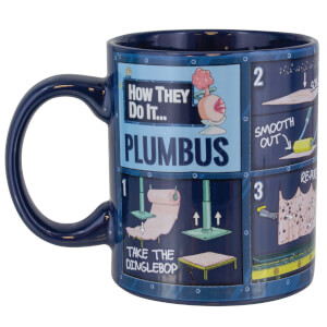 Rick and Morty Plumbus Instruction Mug