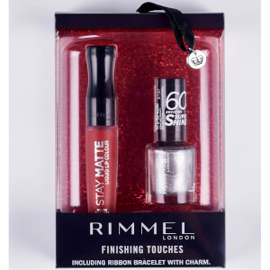 Rimmel Finishing Touches Gift Set - 60 Seconds NP and Stay Matte LL