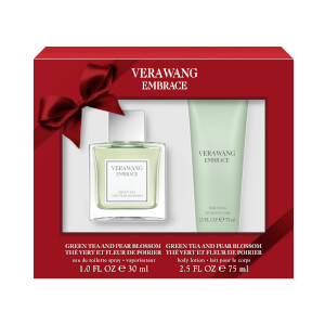 Vera Wang Embrace Green Tea and Pear 30ml Eau De Toilette and 75ml Body Lotion
