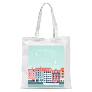 PlanetA444 Copenhagen Tote Bag - White
