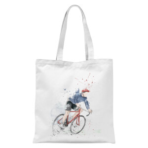 Balazs Solti Cycler Tote Bag - White