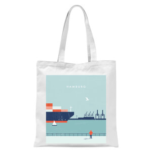 Hamburg Tote Bag - White